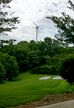 New windmill in Boone, NC