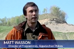 Dr. Matt Wasson in a Reuters piece on mountaintop removal coal mining
